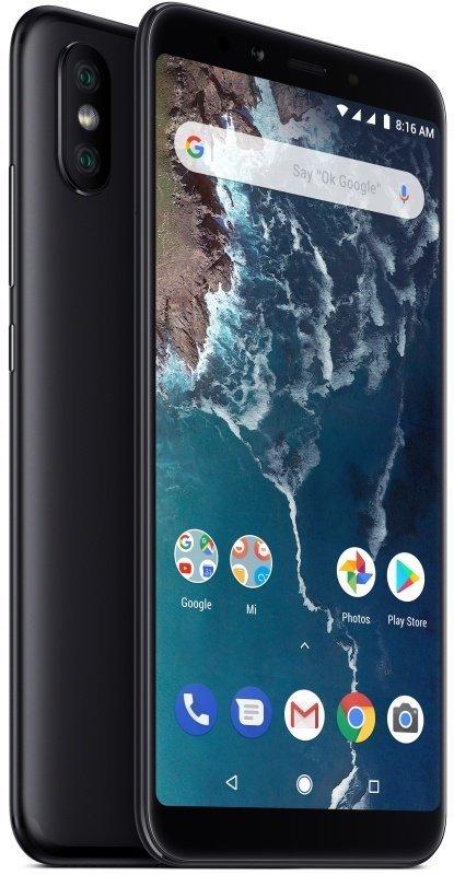 """Xiaomi Mi A2 Lite 5.84"""" 4GB 64GB 4G Dual Sim Smartphone - Black"""