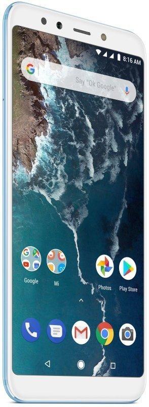 """Xiaomi Mi A2 Lite 5.84"""" 4GB 64GB 4G Dual Sim Smartphone - Blue..."""