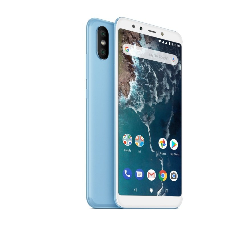 "Xiaomi Mi A2 5.99"" 4GB 64GB Dual Sim Smartphone - Blue"