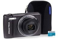 PRAKTICA Luxmedia Z212 LE Graphite Camera Kit inc 32GB MicroSD Card & Case