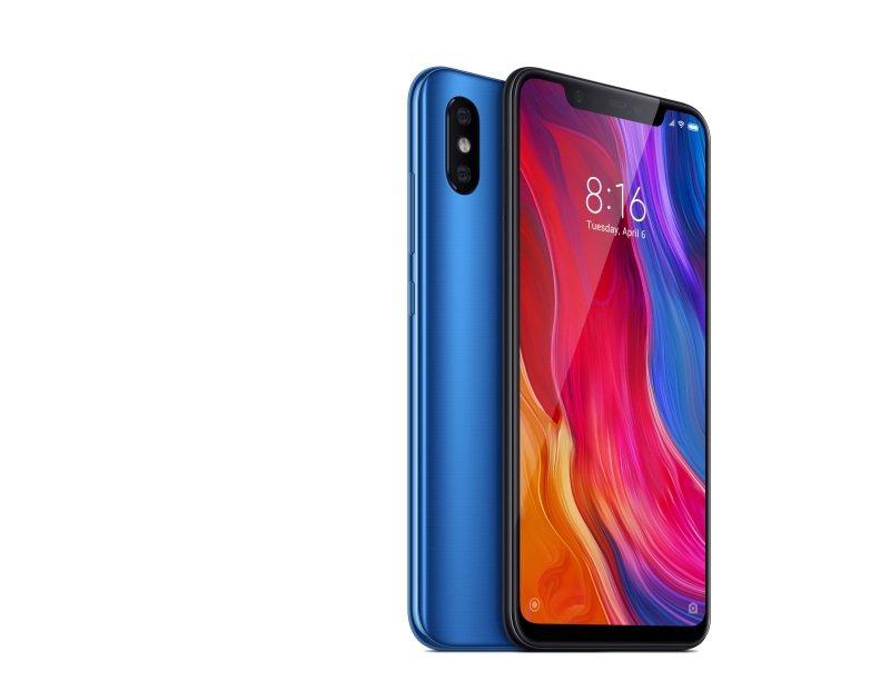 "Xiaomi Mi 8 6.21"" 6GB 64GB Dual SIM Smartphone - Blue"