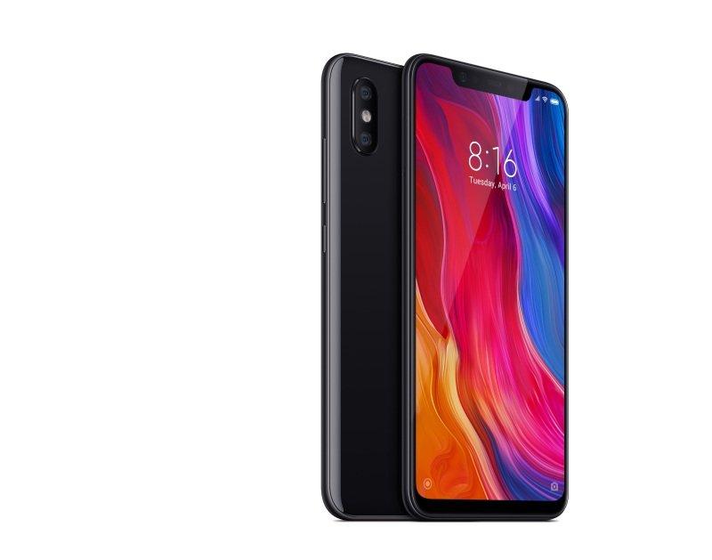 """Xiaomi Mi 8 6.21"""" 6GB 128GB Dual SIM Smartphone - Black"""