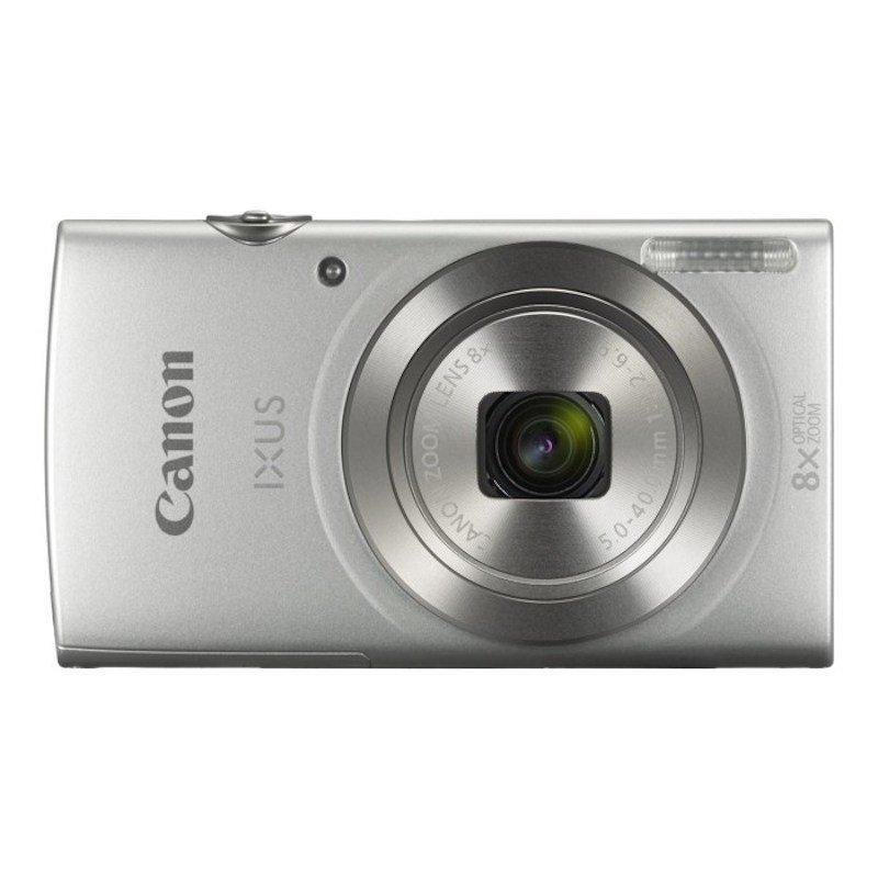 Canon IXUS 185 Silver Camera + CP1300 White Printer  KP-36IP Paper   Lens Cloth
