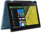 £307.23, EXDISPLAY Acer Spin 1 (SP111-31) 2-in-1 Laptop Intel Celeron N3350 1.1GHz 4GB RAM 64GB Flash 11.6inch LED Touch No-DVD Intel HD WIFI Windows 10 Home - Teal, Intel Celeron N3350 1.1GHz, 4GB RAM + 64GB Flash, 11.6inch LED Touch + WIFI, Webcam + Bluetooth, Windows 10 Home,