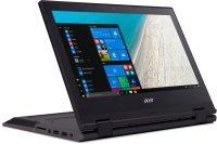 "Acer TravelMate Spin B1 B118-RN-C9SY Intel Celeron, 11.6"", 4GB RAM, 64GB eMMC, Windows 10, Notebook - Black"