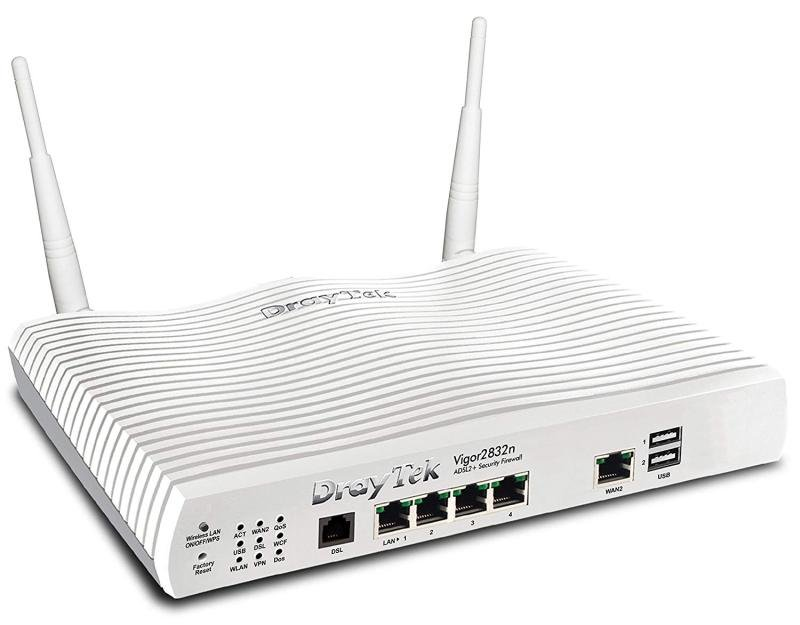DrayTek Vigor 2832n Wireless ADSL Business Class Router/Firewall