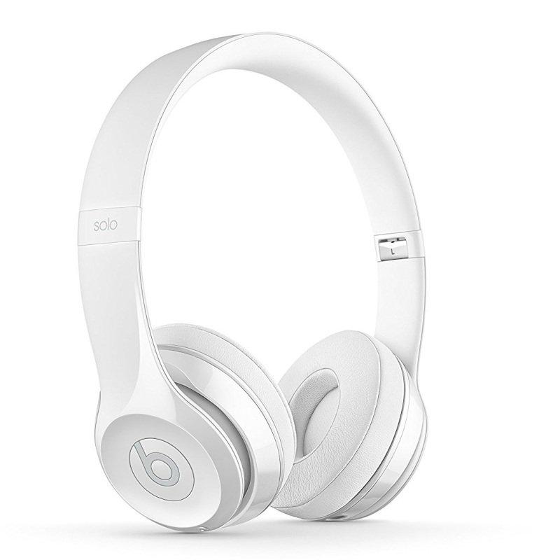 Beats Solo3 Wireless On-ear Gloss White Headphones