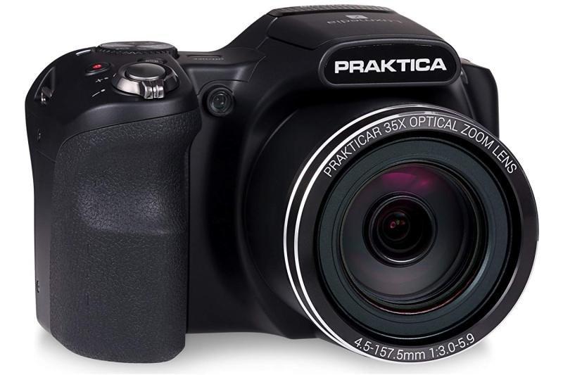 PRAKTICA Luxmedia Z35 Bridge Camera 16MP 35xZoom 3inch LCD FHD Video - Black