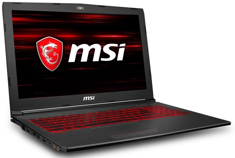 MSI GV62 8RC Gaming Laptop, Intel Core i7-8750H 2.2GHz, 8GB RAM, 1 TB HDD, 15.6 Full HD, No-DVD, NVIDIA GTX 1050, WIFI, Bluetooth, Windows 10 Home