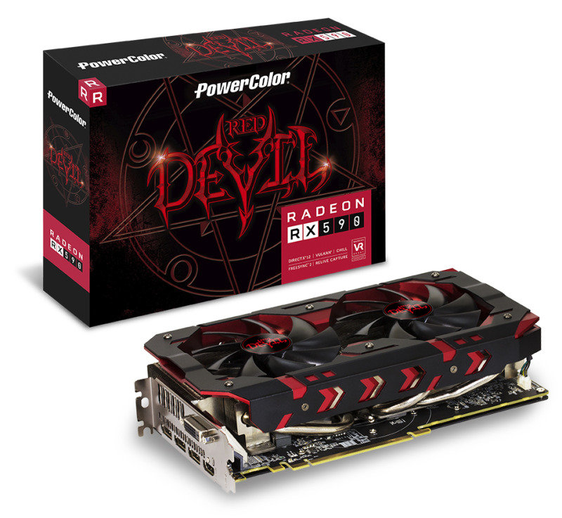 PowerColor Red Devil RX 590 8GB GDDR5 Graphics Card