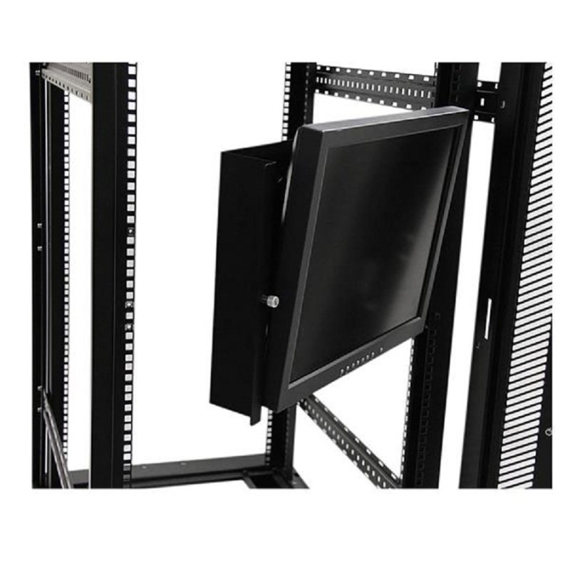 Universal Swivel VESA LCD Mounting Bracket for 19in Rack or Cabinet