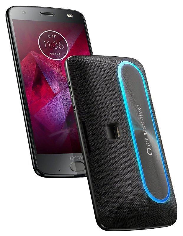 Motorola Moto Mods Smart Speaker with Amazon Alexa - Black