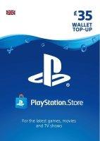 Sony PlayStation £35 PSN Card