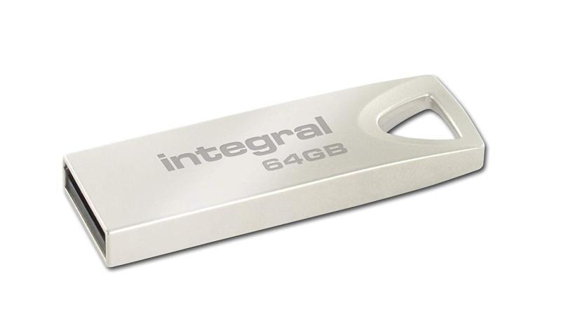 Integral Metal Arc 64GB USB Flash Drive