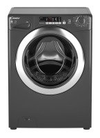 Candy GVSW496DCR Freestanding 9+6kg 1400 Washer Dryer - Graphite with Chrome Door