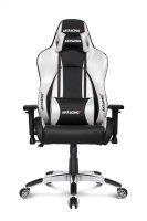 AKRacing Masters Series Premium Gaming Chair - Silver