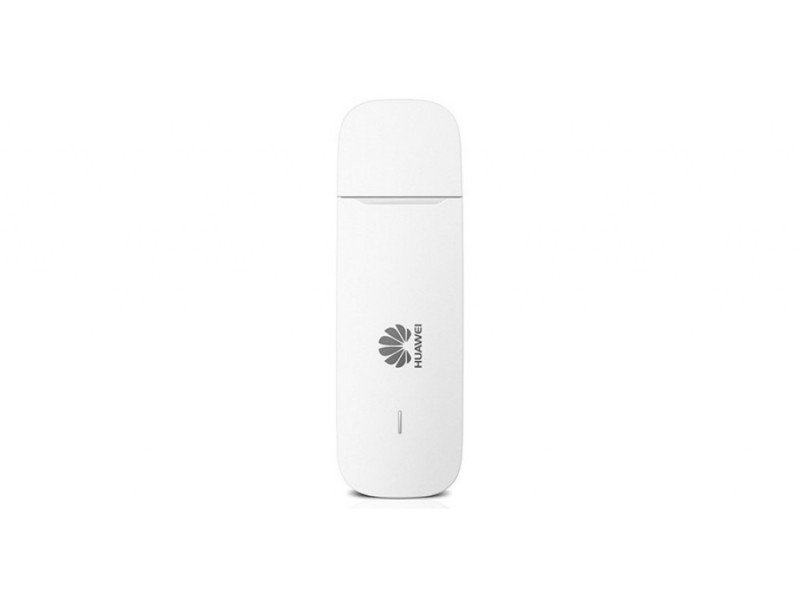 Huawei 3G/21 Mbps High Speed USB Portable Dongle Modem - White