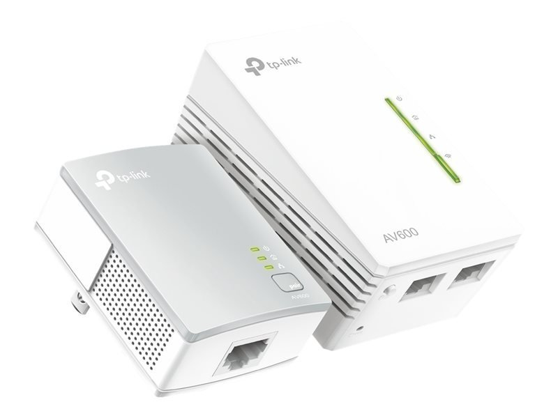 TP-Link TL-WPA4220 KIT AV600 WiFi Powerline Extender