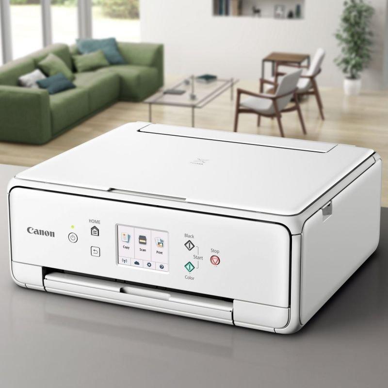 Canon TS6151 Multi-Function Wireless Inkjet Printer - White