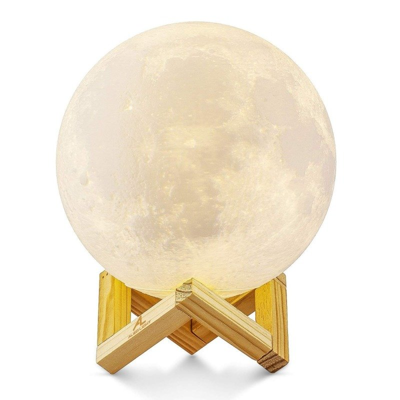 Moon Lamp 3 Colours - Touch Sensor - Large (15cm)
