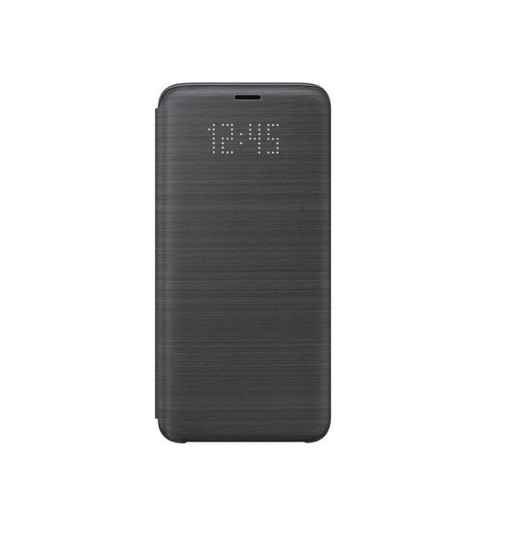 Galaxy S9 LED View Cover Black
