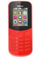Nokia 130 Candy Bar in Red