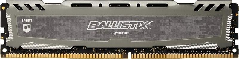 Click to view product details and reviews for Crucial Ballistix Sport Lt Gray 8gb Ddr4 2666 Udimm Memory.