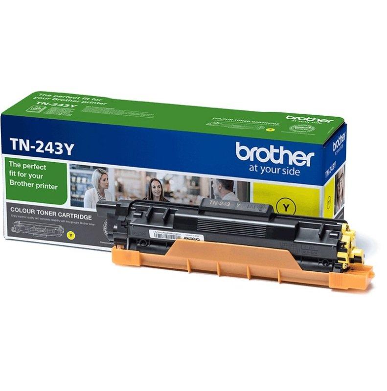 Brother TN-243Y Yellow Standard Yield Toner Cartridge