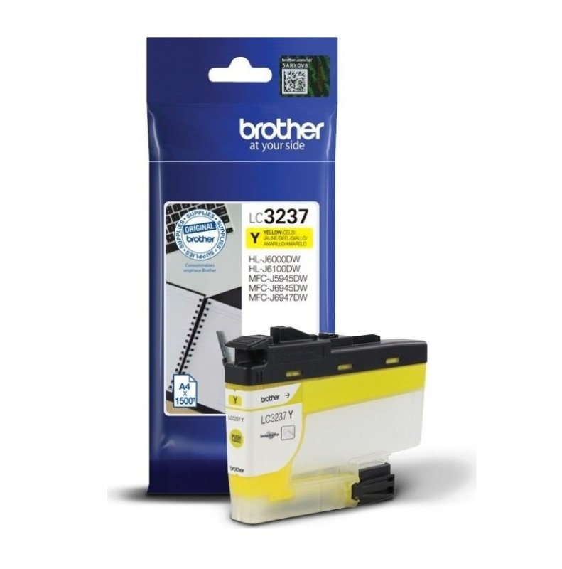 Brother LC3237Y Yellow High Yield Ink Cartridge