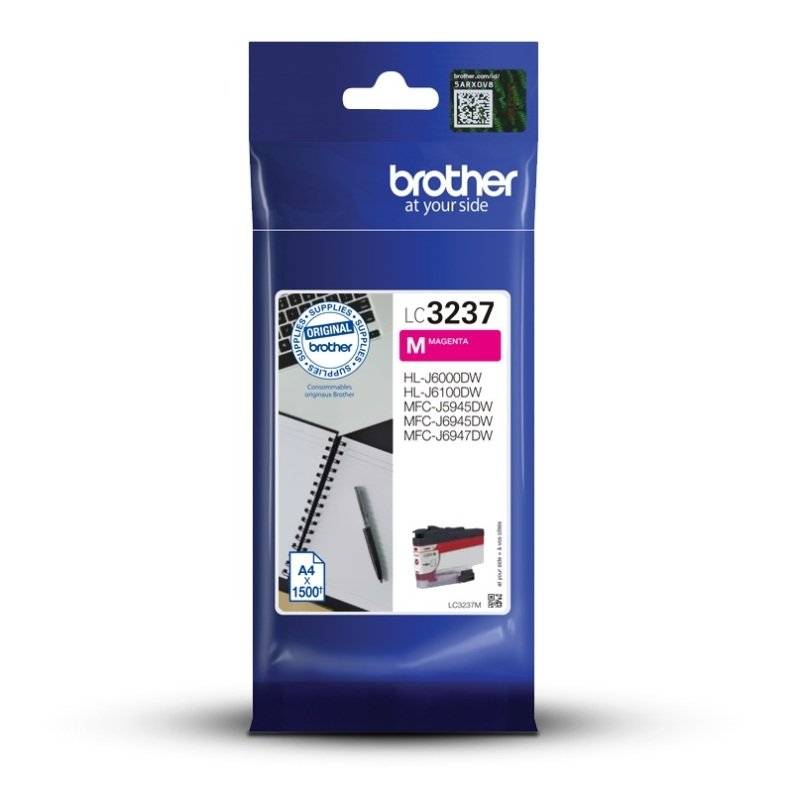 Brother LC3237M Magenta High Yield Ink Cartridge