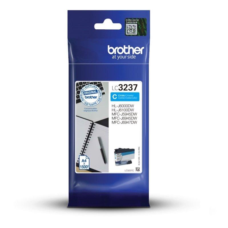 Brother LC3237C Cyan High Yield Ink Cartridge