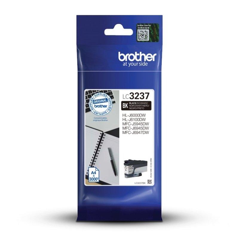 Brother LC3237BK Black High Yield Ink Cartridge