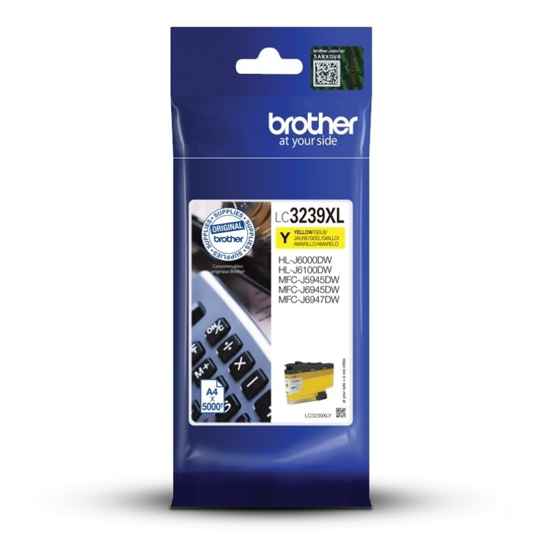 Brother LC3239XLY Yellow Extra High Yield Ink Cartridge