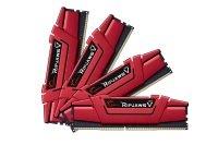 G.SKILL 16GB (4 x 4GB) Ripjaws V Series DDR4 3000MHz Memory Kit - Red