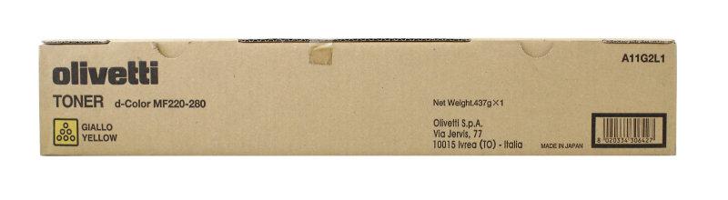 Olivetti D-col Mf220/mf280 Ton Cart Ylw