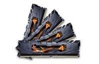 G.SKILL 16GB (4 x 4GB) Ripjaws 4 Series DDR4 2400MHz Memory Kit - Black