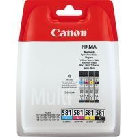 Canon CLI-581 BK/C/M/Y Ink Cartridge Multi Pack