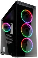 Kolink Horizon Midi Tower RGB Gaming Case - Black