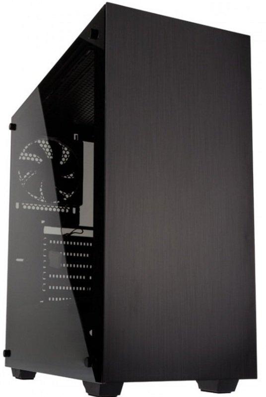Kolink Stronghold Midi Tower Gaming Case - Black