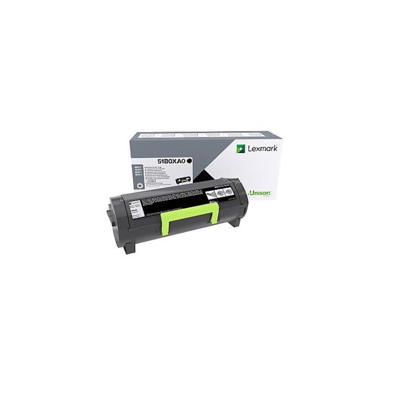 Lexmark 51B0XA0 Black Extra High Yield Toner Cartridge