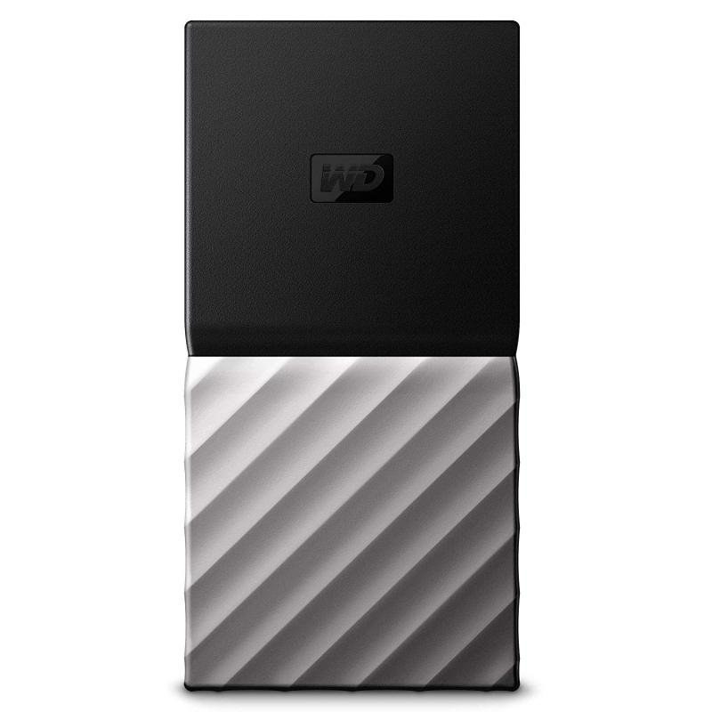WD My Passport Portable SSD 256 GB - Black/Silver