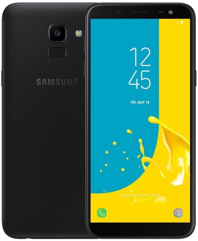 "Samsung Galaxy J6 Black 5.6"" 32GB 4G Unlocked & SIM Free"