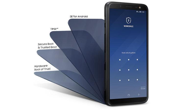 Samsung Galaxy J6 Black 5 6