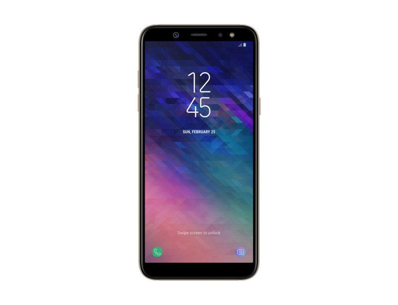 """Samsung Galaxy A6 Gold 5.6"""" 32GB 4G Unlocked & SIM Free"""