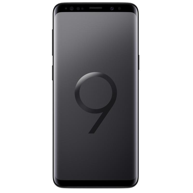 "Image of Samsung Galaxy S9 5.8"" 64GB 4G Smartphone - Midnight Black - Unlocked & SIM Free"