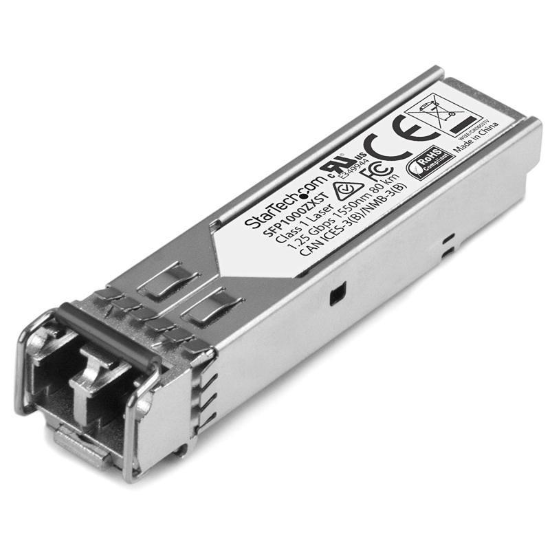 StarTech 1000BASE-ZX MSA Compliant SFP Transceiver Module