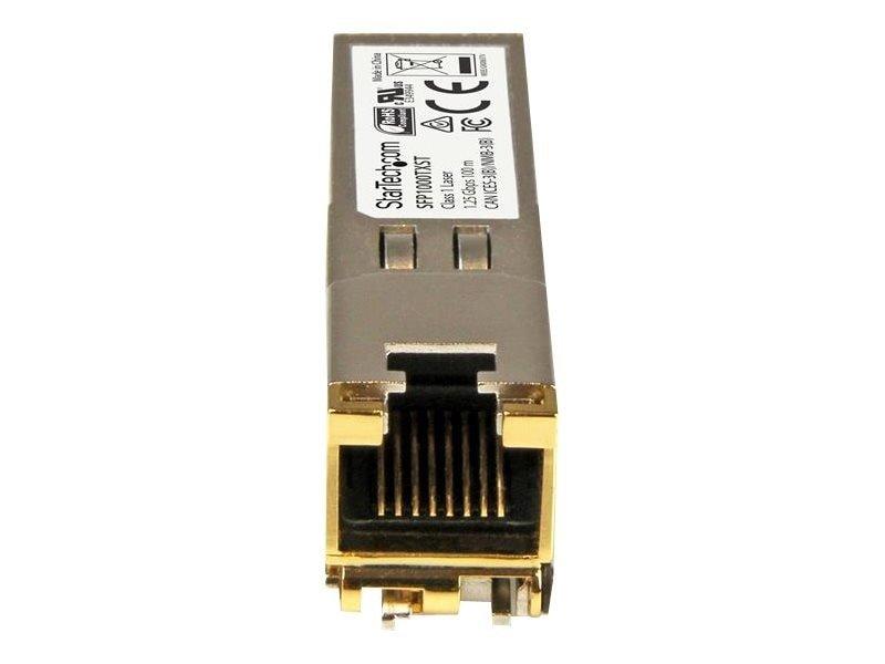 StarTech 1000BASE-TX MSA Compliant SFP Transceiver Module