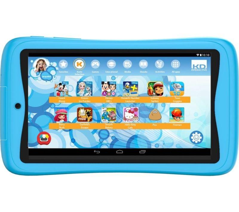 "Kurio Advance 7"" 16GB Kids Tablet - Blue"