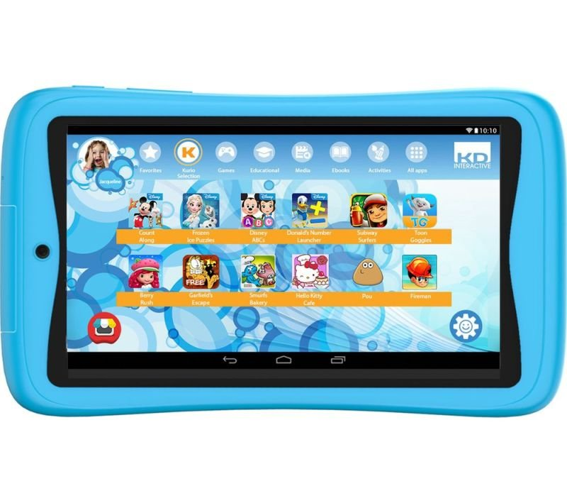 Image of Kurio Tab Connect Kids 7 Inch 16GB Tablet - Blue