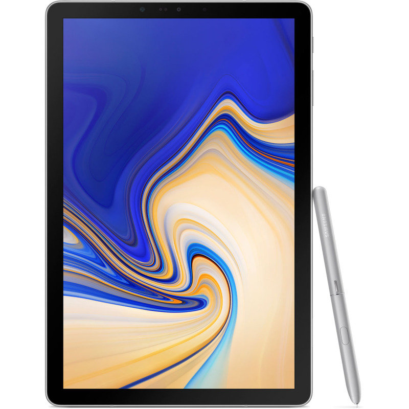 """Image of Samsung Galaxy Tab S4 10.5"""" 64GB Android Tablet with S Pen - GREY"""